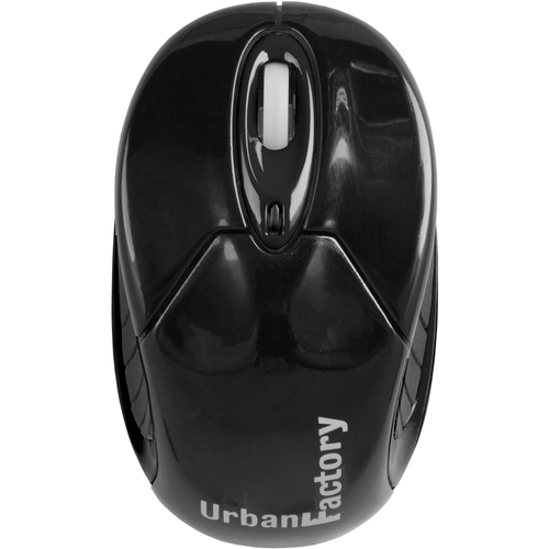 Urban Factory Mouse - Wireless - Bluetooth - Black NO DONGLE