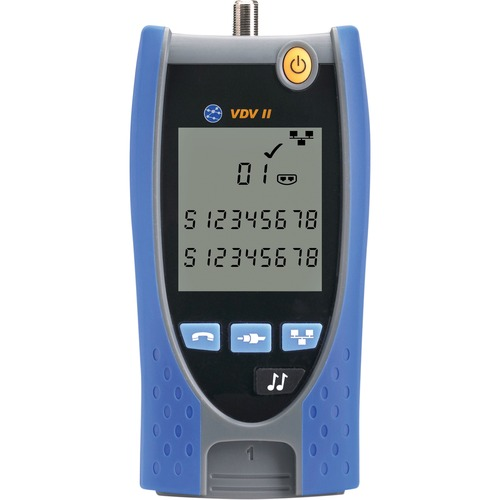 TREND Networks VDV II - Voice, Video and Cable Verifier - Wiremap, Voltage Protection, Coaxial Cable Testing, Twisted Pair
