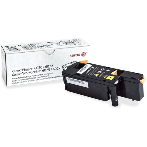 Xerox Original Toner Cartridge - Laser - Standard Yield - 1000 Pages - Yellow - 1 Each PHASER 6022 YIELD 1000