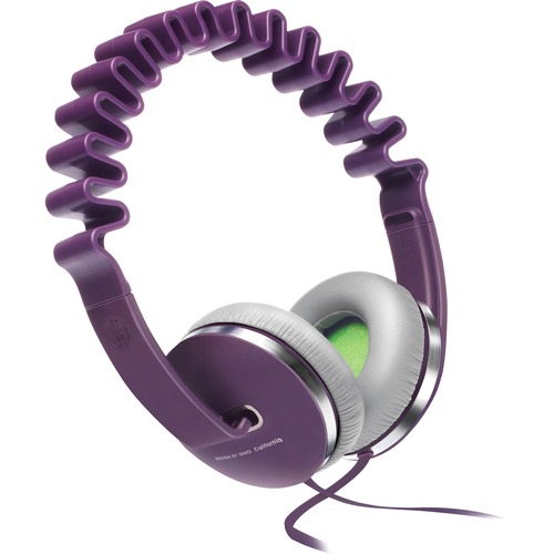 INNO Wave Headphone - Stereo - Purple - Wired - Over-the-head - Binaural - Circumaural - Noise Canceling NOISE CANCELLATION