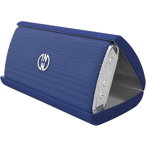 INNO Portable Bluetooth Speaker System - Blue - Bluetooth WITH CARRYING CASE