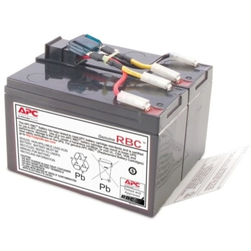 APC Replacement Battery Cartridge #48 - Spill Proof, Maintenance Free Lead Acid Hot-swappable CRTDGE #48