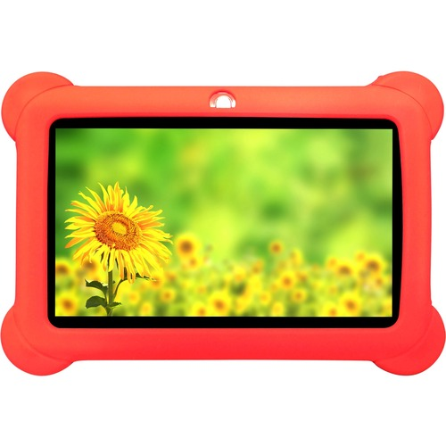 Zeepad Kids Tablet - RedSilicone - 4 GB - 512 MB - Quad-core (4 Core) 1.60 GHz - Wireless LAN - Bluetooth ANDROID 4.4 BLUE
