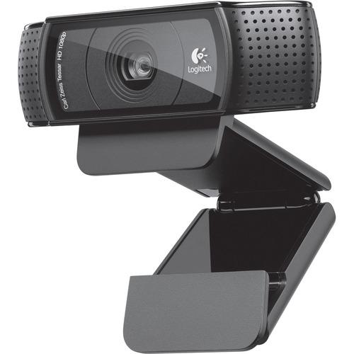 Logitech C920 - Webcam - 30 fps - USB 2.0 - 1920 x 1080 Pixel Videoauflösung - Autofokus - Mikrofon - Monitor, Notebook, S