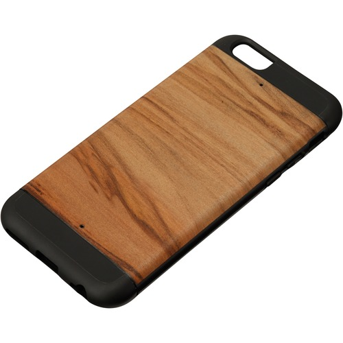 Man&Wood iPhone 6S Protection Case Cappuccino - For Apple iPhone 6, iPhone 6s Smartphone - Cappuccino, Black - Smooth - Sc