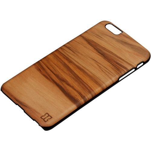Man&Wood iPhone 6S Plus Slim Case Cappuccino - For Apple iPhone 6s Plus Smartphone - Cappuccino, Black - Smooth - Scratch