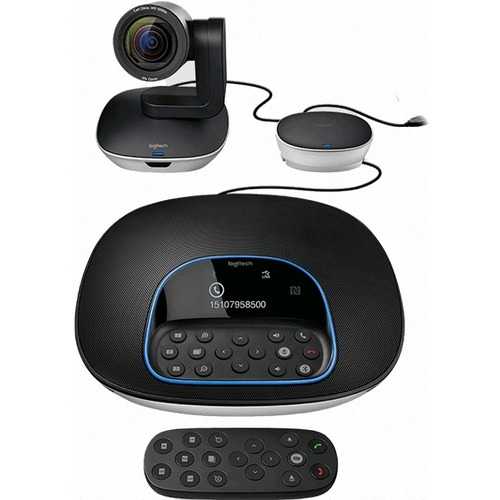 Logitech Videokonferenzausrüstung - 1920 x 1080 Video (Inhalt) - H.264 - 30 fps - USB - Wandmontierbar, Tabletop