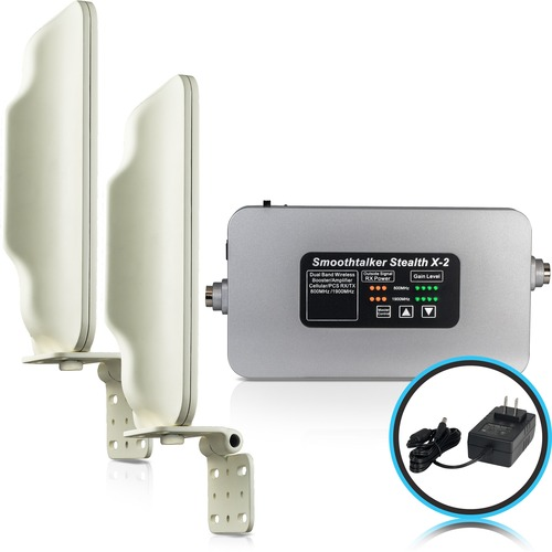 Smoothtalker Stealth X2-65dB Building Cellular Signal Booster - Rural - 824 MHz, 1850 MHz to 894 MHz, 1990 MHz - Direction