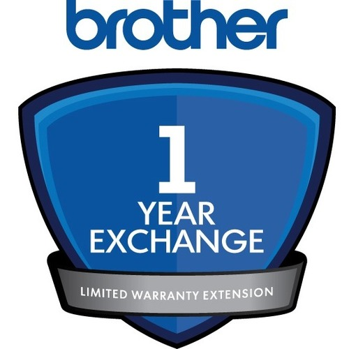 Brother Exchange - 1 Year Extended Warranty - Warranty - Exchange - Electronic and Physical Service EXTENSION FOR ADS-3600
