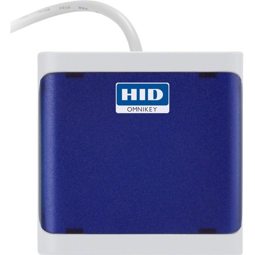 HID OMNIKEY 5022 Smart Card Reader - Contactless - Cable - USB 3.0 - Dark Blue