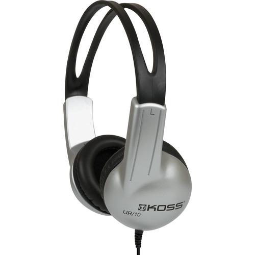 Koss UR10 HB Headphone - Stereo - Mini-phone (3.5mm) - Wired - 32 Ohm - 60 Hz 20 kHz - Over-the-head - Binaural - Circumau