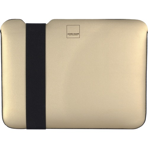 """Acme Made Carrying Case (Sleeve) for 12"""" MacBook - Gold - Scratch Resistant Interior, Stain Resistant, Water Resistant - S"""