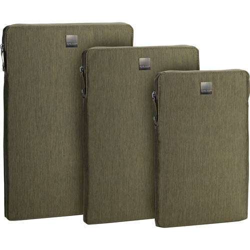"""Acme Made Montgomery Street Carrying Case (Sleeve) for 11"""" MacBook Air - Olive Green - Scratch Resistant Interior, Abrasio"""