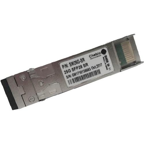 Chelsio 25Gb Optical Module - For Data Networking, Optical Network - 1 x 25GBase-SR Network - Optical Fiber - Multi-mode -