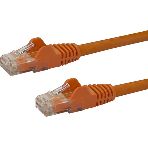 StarTech.com 10m CAT6 Ethernet Cable - Orange Snagless Gigabit - 100W PoE UTP 650MHz Category 6 Patch Cord UL Certified Wi