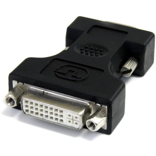 StarTech.com Videoadapter - 1 x HD-15 Stecker VGA - 1 x DVI-I (Dual-Link) Buchse Digital-Video - Schwarz