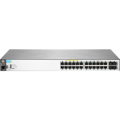 HPE 2530-24G-PoE+ 24 Anschlüsse Verwaltbar Ethernet-Switch - 2 Unterstützte Netzwerkschicht - Verdrilltes Doppelkabel - Po