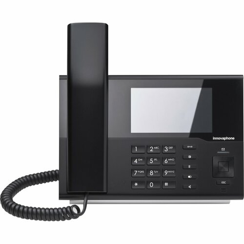 innovaphone IP232 IP-Telefon - Schwarz - VoIP - 2 x Netzwerk (RJ-45) - PoE Ports