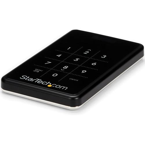 StarTech.com Laufwerksgehäuse SATA/600 - USB 3.0 Micro-B Host Interface Extern - Schwarz - 1 x HDD unterstützt - 1 x SSD u