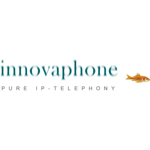 innovaphone IP411 VoIP-Gateway - 2 x RJ-45 - 2 x FXS - PoE Ports - Gigabit-Ethernet - 1U Hoch - Rackmount