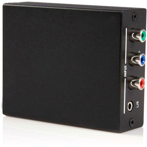 StarTech.com AV-Adapter - 1 x Klinke Buchse Audio, 3 x RCA Buchse Video, 1 x RCA Buchse Audio - 1 x HDMI Buchse Digitaler