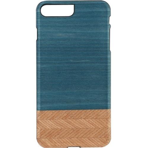 Man&Wood iPhone 7 Plus Slim Denim - For Apple iPhone 7 Plus Smartphone - Denim, Black - Smooth - Scratch Resistant - Wood,