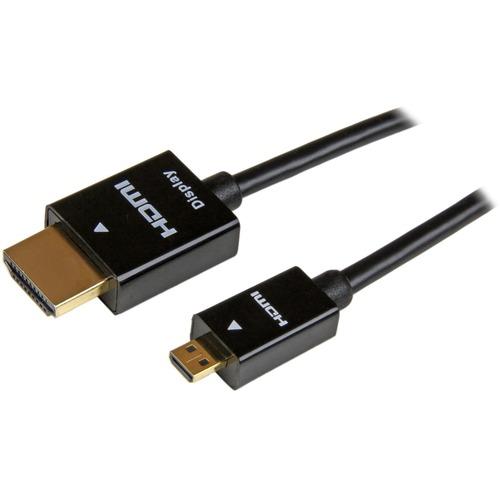 StarTech.com 5 m HDMI/Micro HDMI AV-Kabel für TV, Audio-/Video-Gerät, Smartphone, Tablet, Monitor, Raspberry Pi - 1 - Erst