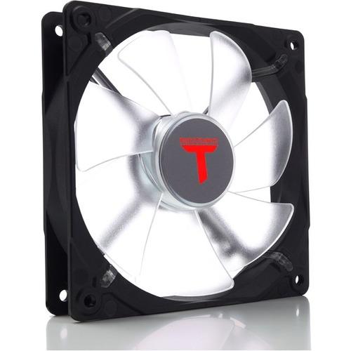 "RIOTORO LED FAN 120mm High Airflow 1500 RPM Performance Edition - 4.72"" Maximum Fan Diameter - 351.6 gal/min Maximum Airfl"