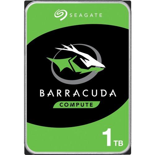 """Disque dur Seagate BarraCuda ST1000DM010 - 3.5"""" Interne - 1 To - SATA (SATA/600) - 7200trs/mn - 2 an(s) Garantie"""