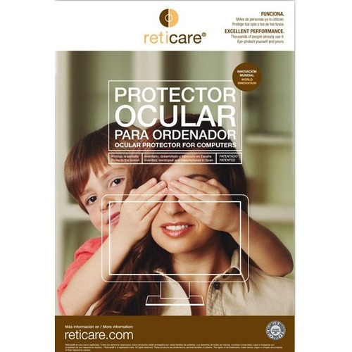 """Reticare Screen Protector Transparent - For 23"""" Widescreen LCD Monitor - 16:9 - Scratch Resistant - Plastic, Silicone - 1"""