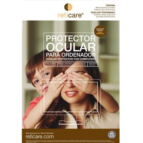 """Reticare Screen Protector Transparent - For 27"""" Widescreen LCD iMac - 16:9 - Scratch Resistant - Plastic, Silicone - 1 Pac"""