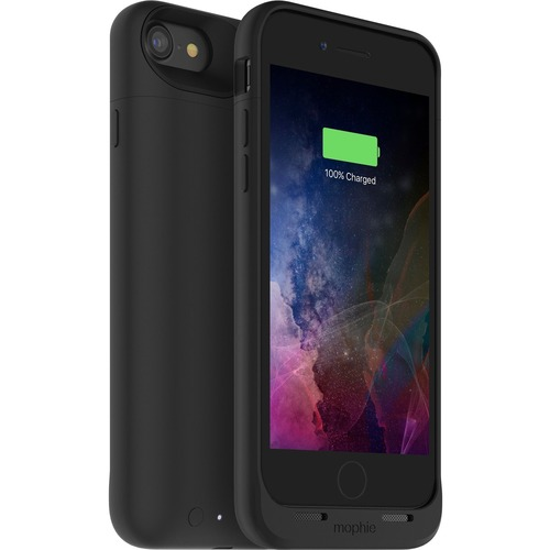 Mophie juice pack air Made for iPhone 7 - For Apple iPhone 7 Smartphone - Black - Rubberized - Impact Resistant, Drop Resi