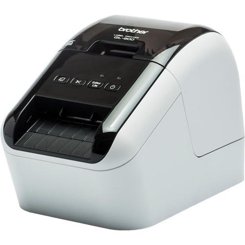 "Brother QL-800 Desktop Direct Thermal Printer - Monochrome - Label Print - USB - 58 mm (2.28"") Print Width - 148 mm/s Mono"