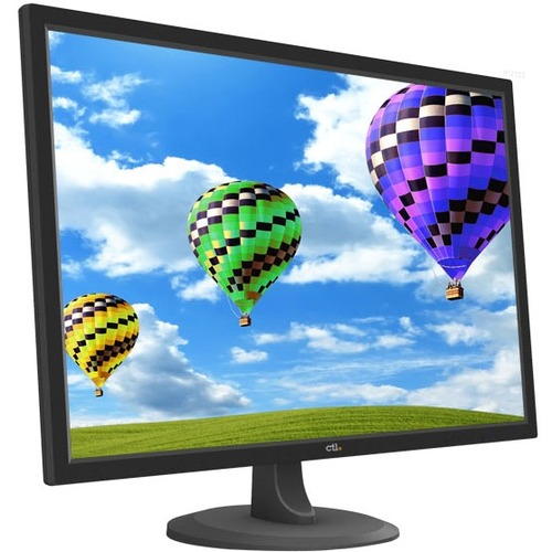 "CTL MTIP2153 22"" Full HD LED LCD Monitor - 16:9 - Black - 22"" Class - 1920 x 1080 - 250 Nit - 6 ms - HDMI - VGA - DisplayP"
