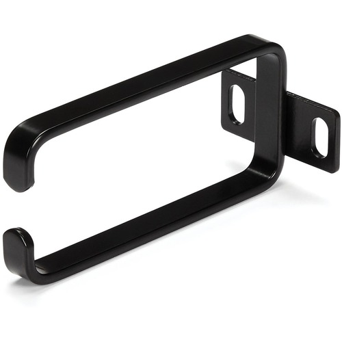 StarTech.com D-ring - Schwarz - 1 Paket - TAA-konform - 1U Höhe - Stahl