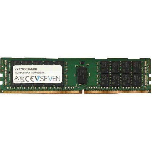 V7 RAM-Modul für Server - 16 GB - DDR4-2133/PC4-17000 DDR4 SDRAM - 2133 MHz - CL15 - ECC - Registriert - 288-Pin - DIMM