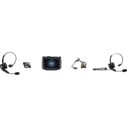 Zebra Kabel Kopfbügel, Nackenbügel Mono Headset - Monaural - Ohraufliegend - Host-Schnittstelle: Mini-Phone (3,5mm)