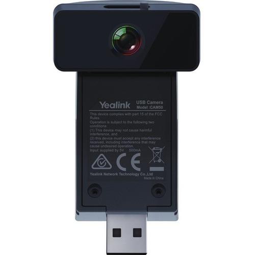Yealink CAM50 2 Megapixel HD Surveillance Camera - Color - H.264 - 1280 x 720