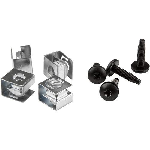 StarTech.com Schraube, Sattel - TAA-konform - Rack-Schraube - 10 - 19,05 mm - 1Paket