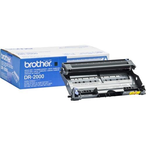 Tambour de numérisation d'images Brother DR-2000 pour Imprimante Laser - Noir - 12000
