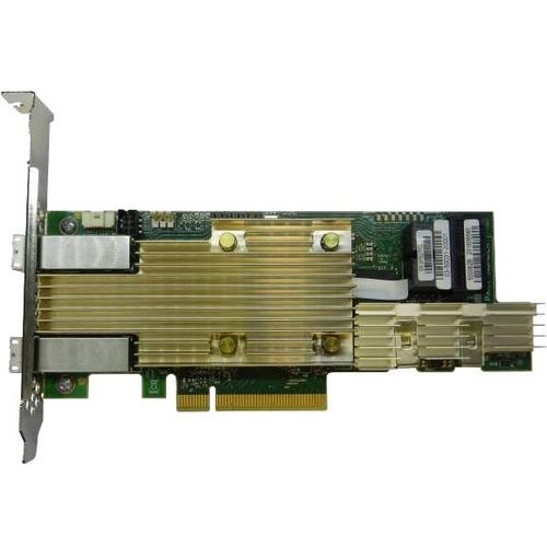 Intel Tri-mode PCIe/SAS/SATA Full-Featured RAID Adapter, 8 Internal & 8 External Ports - 12Gb/s SAS, Serial ATA/600 - PCI