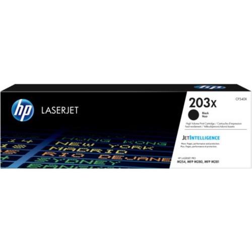 HP 203X Tonerkartusche - Schwarz Original - Laserdruck - Hoch Kapazität - 3200 Seiten