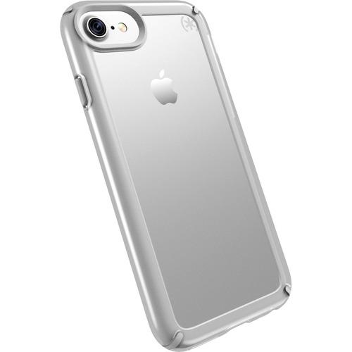Speck Presidio Show Hülle für Apple iPhone 6, iPhone 6s, iPhone 7, iPhone 8 Smartphone - Durchsichtig, Sterling-Silber - S
