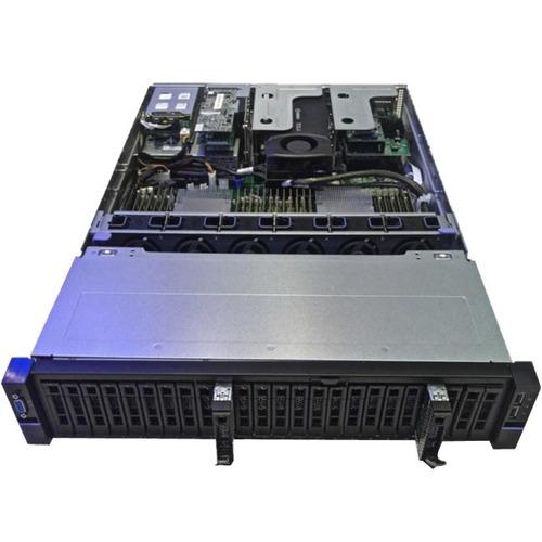 SVR2U24-24 76.8TB 8160 256G 2X10GBE NTAA PCIE RI-1.2DW/D ISE