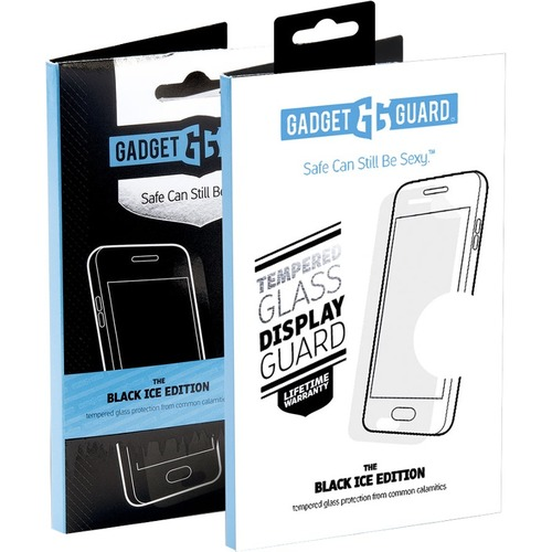 Gadget Guard Apple iPhone X Tempered Glass Screen Protector Edition Black, Clear - For LCD iPhone X - Dirt Resistant, Drop