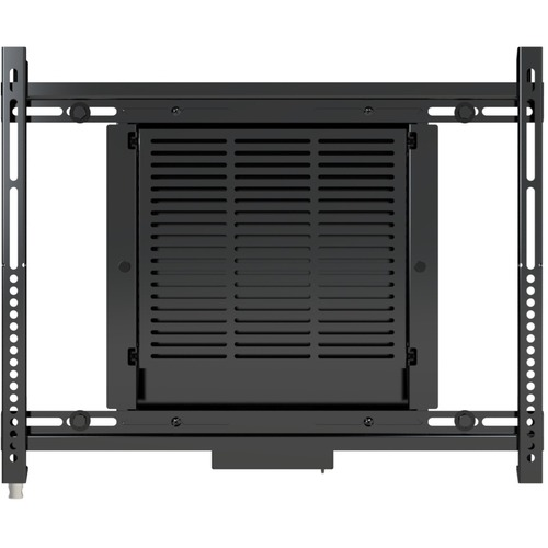 Premier Mounts Wall Mount for Flat Panel Display, Media Player - Black - 75 lb Load Capacity - 100 x 100, 400 x 400 VESA S