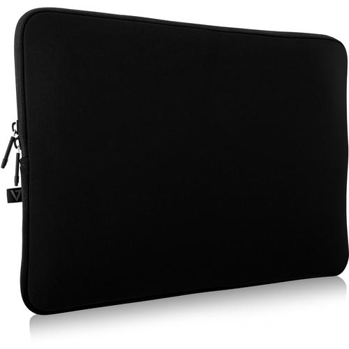 V7 Elite CSE14-BLK-3E Tasche (Sleeve) für 35,6 cm (14 Zoll) Notebook - Schwarz - Neopren