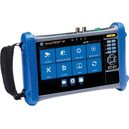 TREND Networks SecuriTEST IP - Digital/Analog/HD Coax CCTV Tester - Camera Testing, Analog Camera Testing, IP Camera Testi