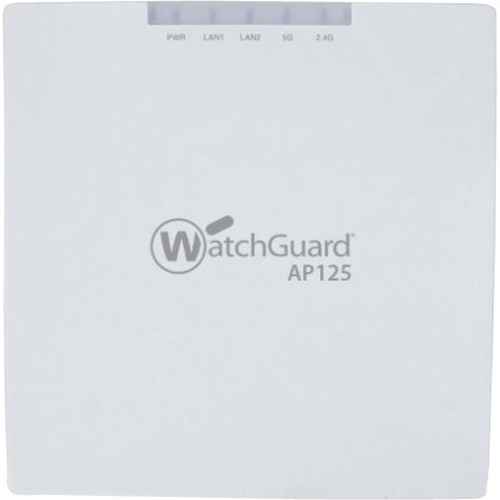 WatchGuard AP125 and 3-yr Secure Wi-Fi - 2.40 GHz, 5 GHz - MIMO Technology