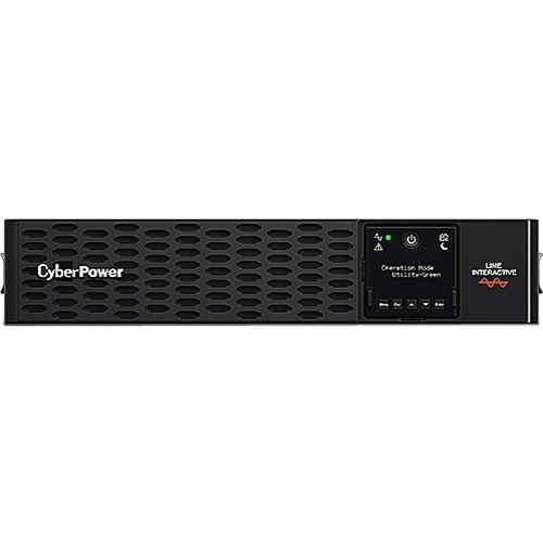 CyberPower Professional Rackmount PR1000ERT2U Line-interactive UPS - 1 kVA/1 kW - 2U Rack/Tower - 3 Hour Recharge - 7 Minu